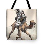 Camel & Rider Tote Bag