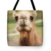 Camel Cameo Tote Bag
