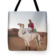Camel Riders Tote Bag