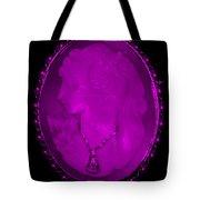 Cameo In Purple Tote Bag