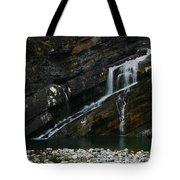 Cameron Falls Waterton Lakes National Park Tote Bag