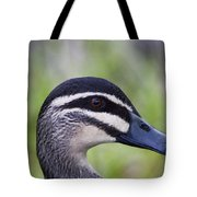 Camo Face Painted Tote Bag