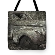 Camouflage Classic Car Tote Bag