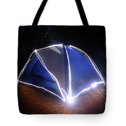 Camping Tote Bag by Ted Kinsman