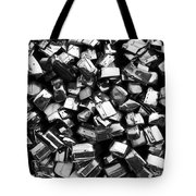 Can You Guess What This Is    Bw Tote Bag