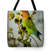 Can You Say Pretty Bird? Tote Bag