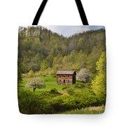 Canaan Valley West Virginia Cabin Tote Bag