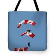 Canada Day Flight Tote Bag