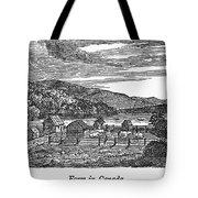 Canada: Farm, C1820 Tote Bag