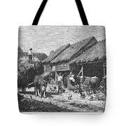 Canada: Farming, 1883 Tote Bag