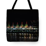 Canada Place Convention Center Tote Bag