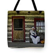 Canadian Gothic Tote Bag