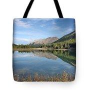 Canadian Rockies Rocky Mountain Lake Tote Bag