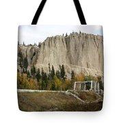 Canadian Rocky Mountains Hoodoos Tote Bag
