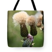 Canadian Thistle Tote Bag