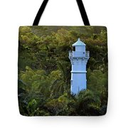 Canal Lighthouse - Panama Tote Bag