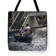 Canal Running Through The Length Of The Shoppes Running Under Th Tote Bag