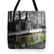 Canal Saint Martin Tote Bag