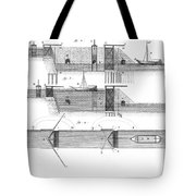 Canals: Languedoc Canal Tote Bag by Granger