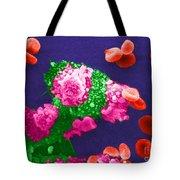 Cancer Cell Death, Sem 3 Of 6 Tote Bag