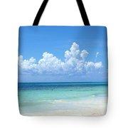 Cancun Beach Tote Bag