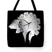 Candle Clock Tote Bag