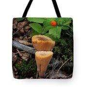 Candle Fungus Tote Bag
