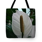Candle White Tote Bag