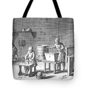 Candlemaking, 18th Century Tote Bag