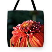 Candy Corn Cone Flower Tote Bag