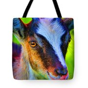 Candy Goat Tote Bag