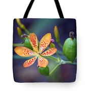 Candy Lily Tote Bag