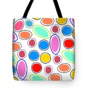 Candy Spots Tote Bag by Louisa Knight