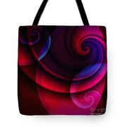 Candy Swirls Tote Bag