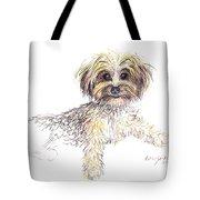 Canine Cutie Tote Bag