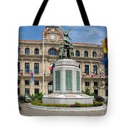 Cannes City Hall Tote Bag