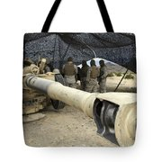 Cannoneers Take Advantage Of Some Tote Bag by Stocktrek Images