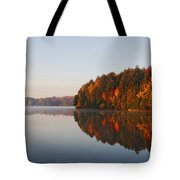 Canoe Lake  Algonquin Tote Bag