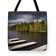 Canoe Lake Tote Bag by Cale Best