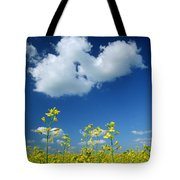 Canola Flowers, Marquette, Manitoba Tote Bag
