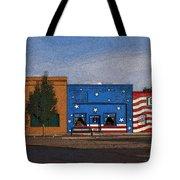 Canon City Facades - Posterized Tote Bag