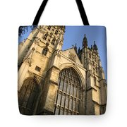 Canterbury Cathedral, Low Angle View Tote Bag