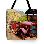 Canyon Creek Ranch Transportation Tote Bag