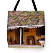Southwest Canyon Hacienda Tote Bag