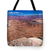 Canyon In Canyonlands Tote Bag