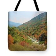 Canyon Stream Tote Bag by Heidi Smith