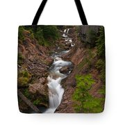 Canyon Stream Tote Bag by Mike Reid