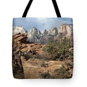 Canyon Trail Overlook Tote Bag