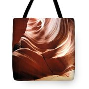 Canyon Waves Tote Bag