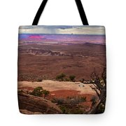 Canyonland Overlook Tote Bag